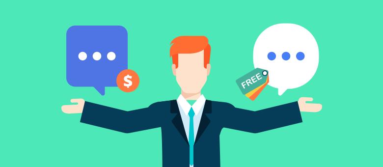 Платный онлайн-консультант vs. бесплатная версия: к чему нужно быть готовым?